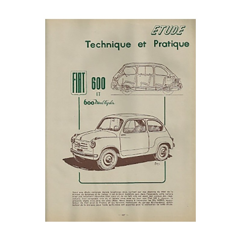 Revue Technique 600-Multipla