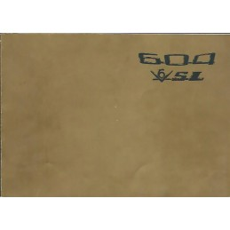 Notice Entretien 604 SL 1976