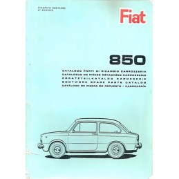 Catalogue Pieces Carrosserie 1965