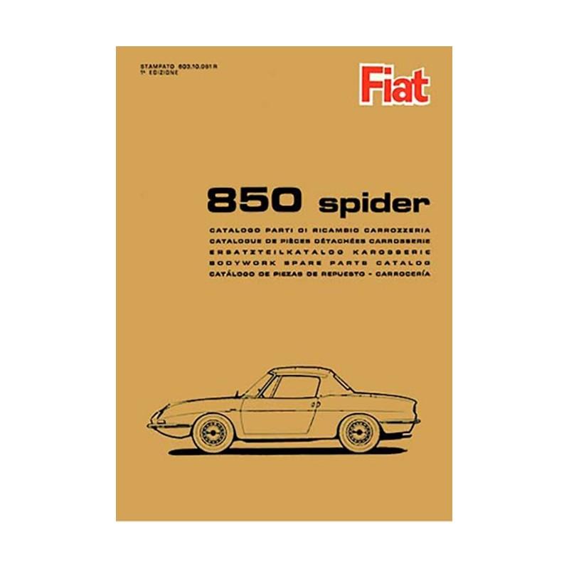 Catalogue Pieces Carrosserie 1966