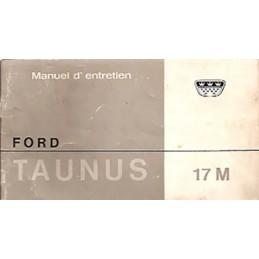 Notice d' Entretien  17 M  1965