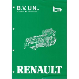 Manuel Reparation BV UN5