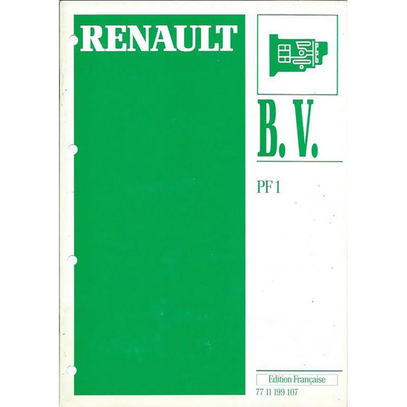 Manuel Reparation BV PF1