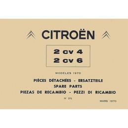 Catalogue Pieces Detachées 1972