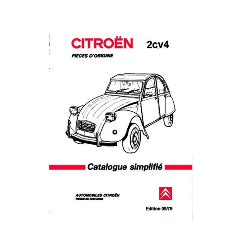 Catalogue Pieces Detachées 1979