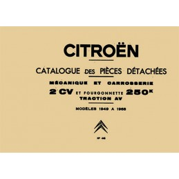 Catalogue Pieces Detachées 1968