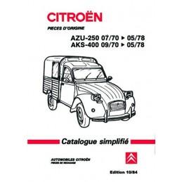 Catalogue Pieces Detachées 1984