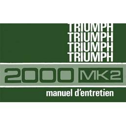 Notice d' Entretien 2000 MK2