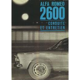 Notice d' Entretien 1963/1964