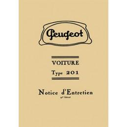 Notice d' Entretien  201
