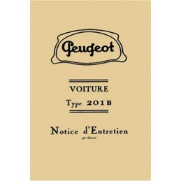 Notice d' Entretien  201 B