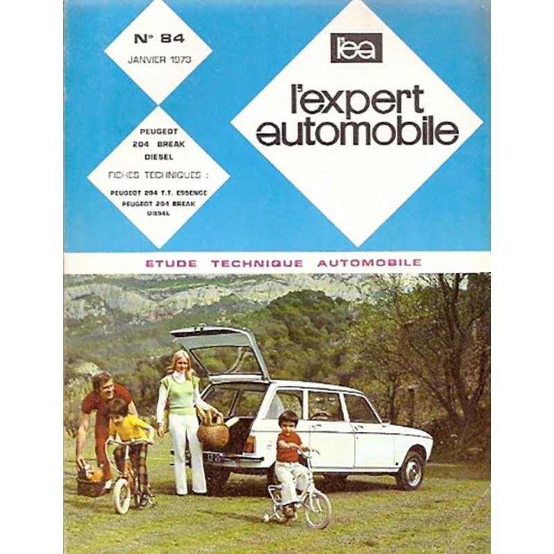 Revue Technique 204 Diesel 1973