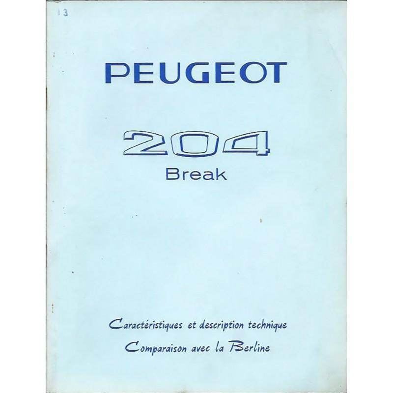 Documentation 204 Break