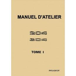 Manuel  Atelier  204/304  Tome 1