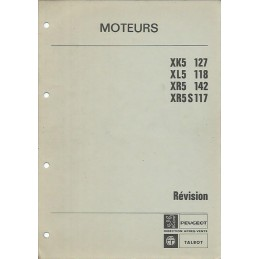Manuel Atelier XK5 / XL5 / XR5