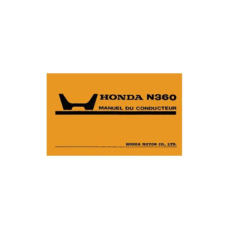 Notice d' Entretien N360 360 / 600 de Honda