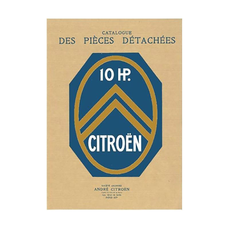 Catalogue Pieces Detachees 10 HP
