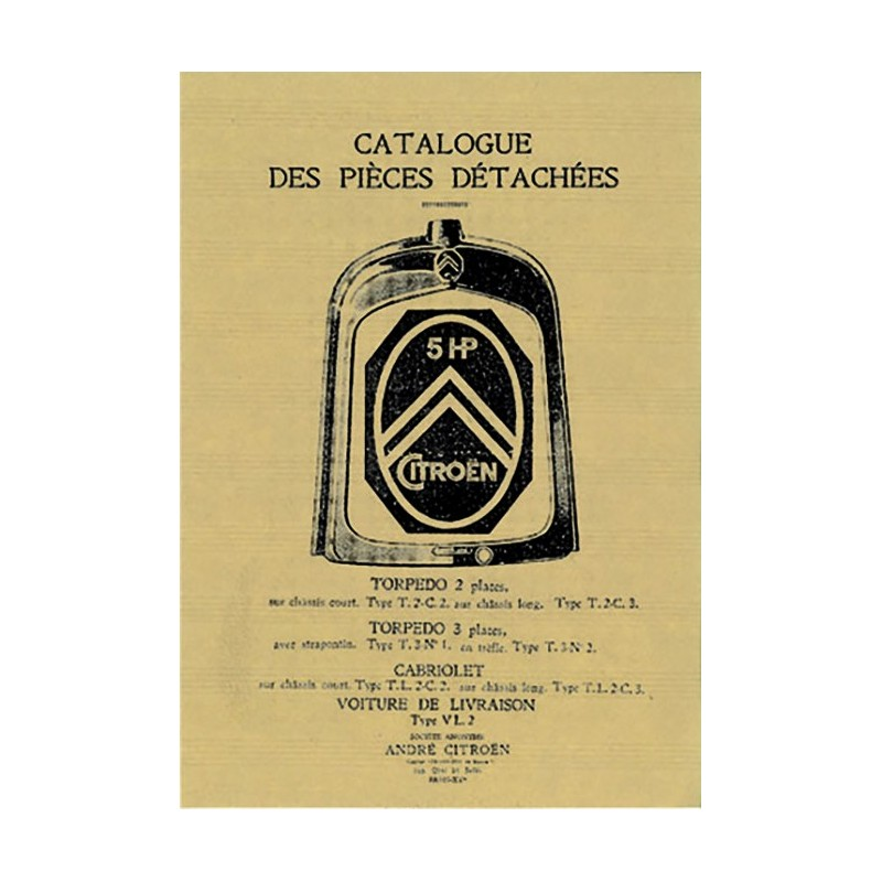 Catalogue Pieces Detachees 5 HP