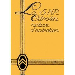 Notice d' Entretien  5 HP
