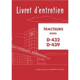 Livret Entretien D 432 / D 439