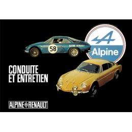 Notice Entretien A110 1300