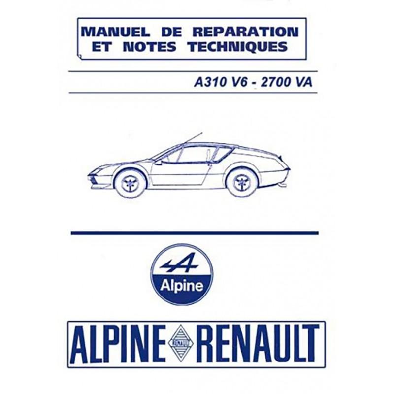 Manuel de Reparation A 310 V6