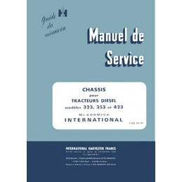 Manuel Atelier 323 / 353 / 423