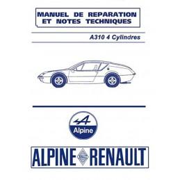 Manuel de Reparation  A 310  4 Cyl
