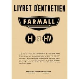 Livret Entretien H / HV