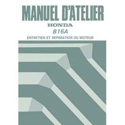 Manuel Atelier Moteur B16A