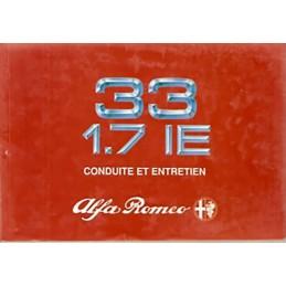 Notice Entretien  1989