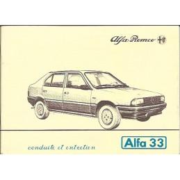 Notice Entretien  1983