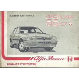 Notice Entretien  1988