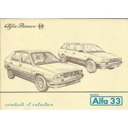 Notice Entretien  1985