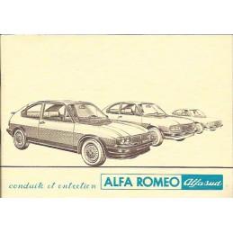Notice Entretien 1982