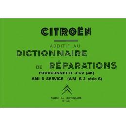 Dictionnaire de Reparation