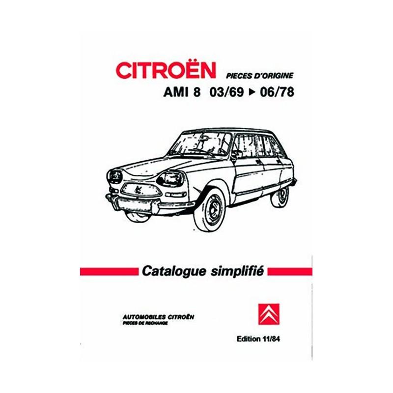 Catalogue Pieces Detachées 1978
