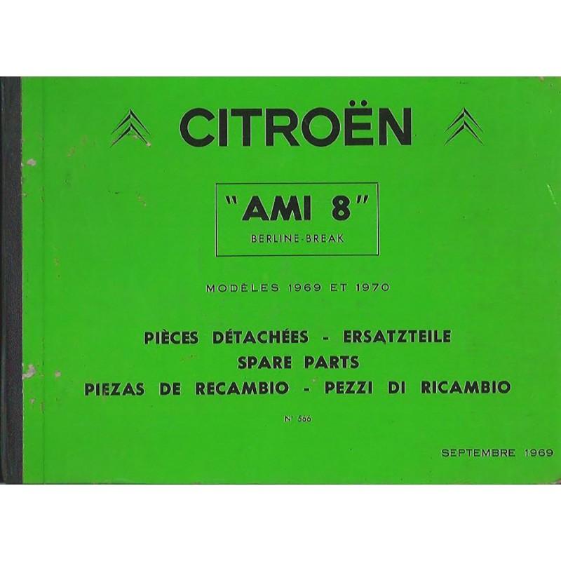 Catalogue Pieces Detachees 1970