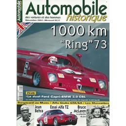 Automobiles Historiques N° 21