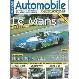 Automobiles Historiques N° 16