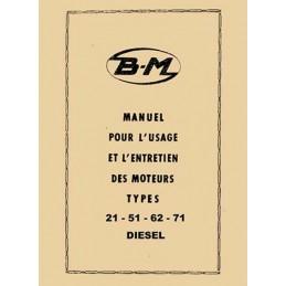 Moteur Bernard 21 - 51 - 62 - 71