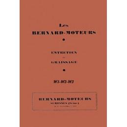 Moteur Bernard W1 - W2 - W3
