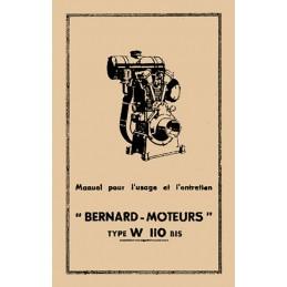 Moteur Bernard W110 Bis