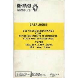 Moteur Bernard 19-39-139-239-249