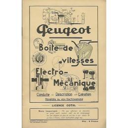 Notice Entretien BV Peugeot