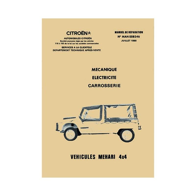 Manuel de Reparation Mehari  4x4