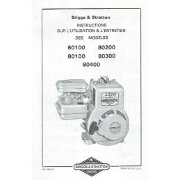 Moteur Briggs 60100 - 80400