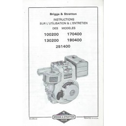 Moteur Briggs 100200 - 251400