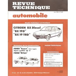 Revue Technique BX 19 Diesel