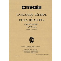 Catalogue Pieces Carrosserie